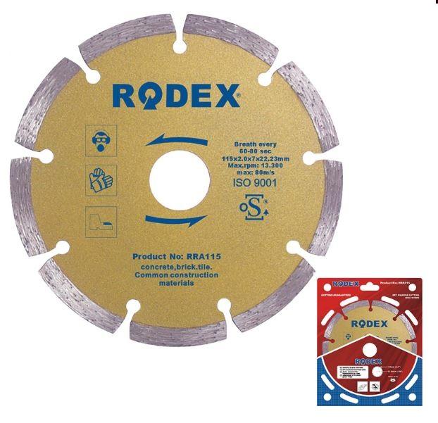 Rodex 89*10 mm SOKETLİ ELMAS TESTERE (BETON) (RRA089) (1 Adet)