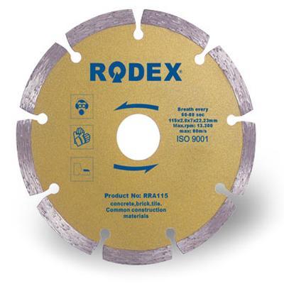 Rodex 180 mm SOKETLİ ELMAS TESTERE (RRA180) (1 Adet)
