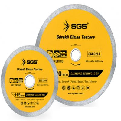 SGS 115mm SÜREKLİ  ELMAS TESTERE SGS2260 (1 Adet)