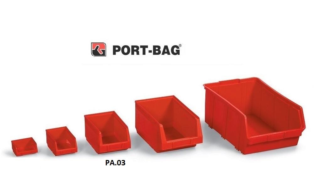 Port-Bag 3 NO KIRMIZI AVADANLIK (PA03) (1 Adet)