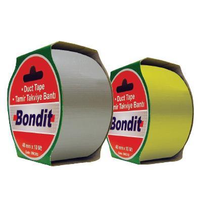 Bondit GENEL AMAÇLI BEZ TAMİR BANT GRİ 48mm 10Mt (BNC191) (1 Adet)