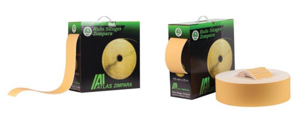 Atlas 180 KUM (115*25mt) GREEN TIGER RULO Sünger Zımpara (1 Adet)