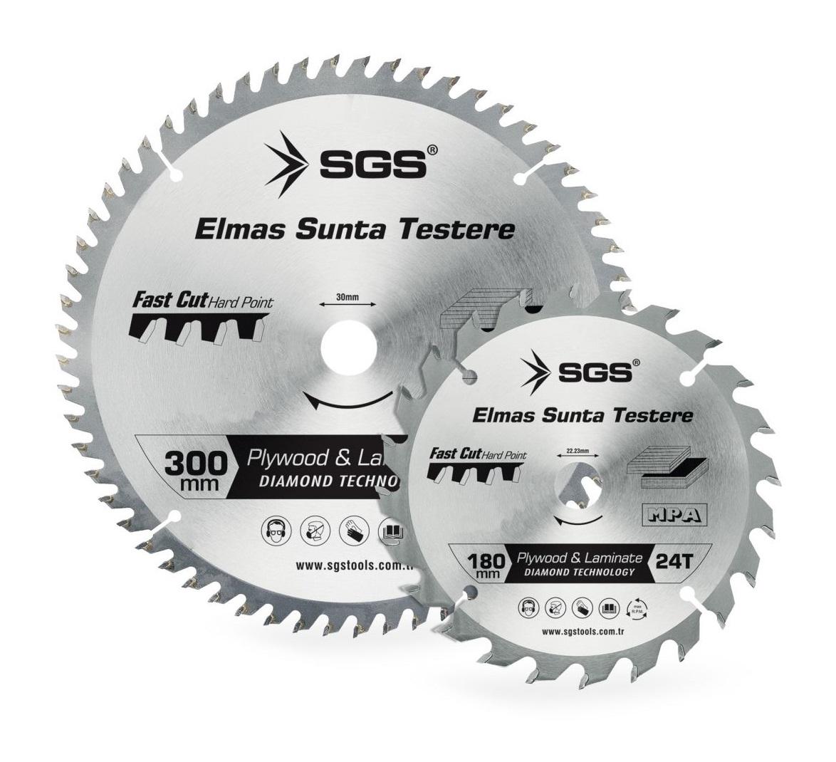 SGS 180mm*40T*22.23mm ELMAS SUNTA TESTERE SGS3006 (1 Adet)